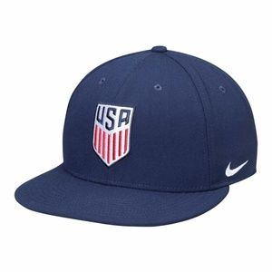 NIKE USA Soccer Core True Flat Bill Snapback